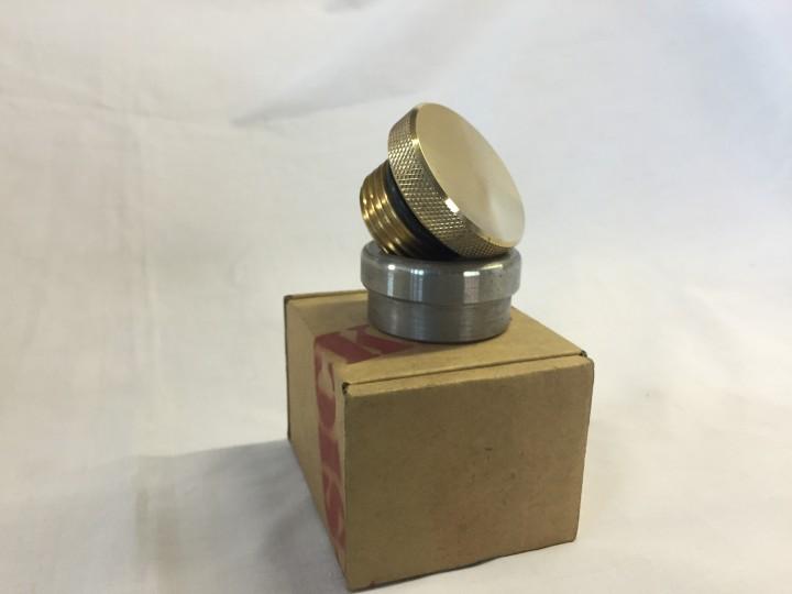 Brass Smooth Weld Gas/Oil Cap