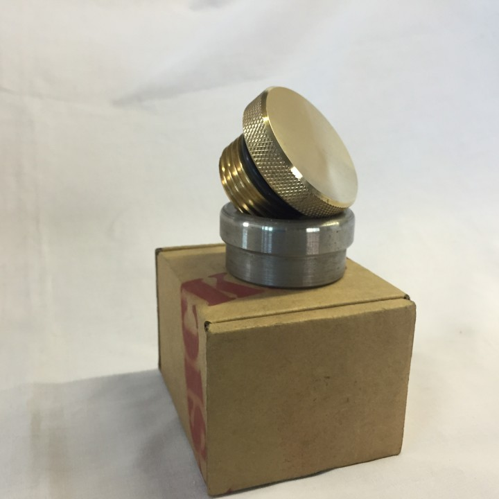 Brass Smooth Weld Gas/Oil Cap
