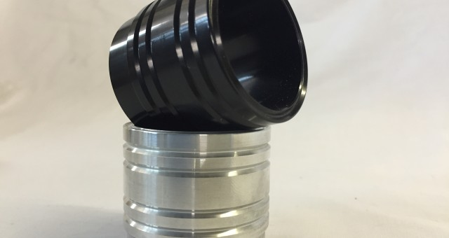 Black Anodised Exhaust Tips